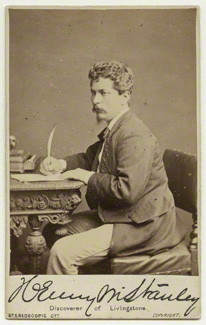 NPG x12934; Sir Henry Morton Stanley by London Stereoscopic & Photographic Company